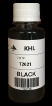 Epson T2621 inkt 100 ml zwart (KHL huismerk)