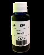 HP 302 C inkt 100 ml cyaan huismerk HP302XLC100-KHL
