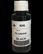 Canon PG-545 kit 100ml zwart (KHL huismerk) PG545XLBK100-KHL