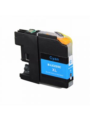 Brother LC-225 C cartridge cyaan huismerk LC225C-KHL