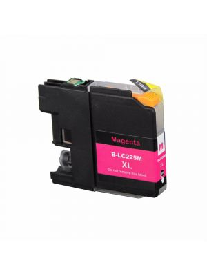 Brother LC-225 M cartridge magenta huismerk LC225M-KHL
