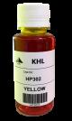 HP 302 Y inkt 100 ml geel huismerk HP302XLY100-KHL