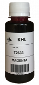 Epson T2633 inkt 100 ml magenta (KHL huismerk) T2633M100T26XLT2603-KHL