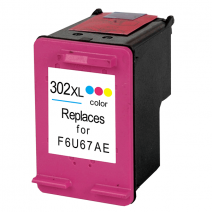 HP 302 XL cartridge kleur (KHL huismerk) HP302XLC-KHL