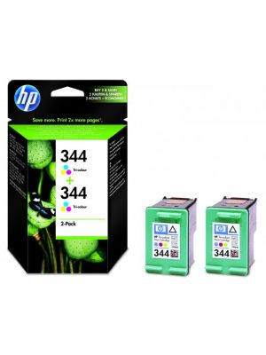 HP 344 kleur twinpack C9505EE (Origineel)