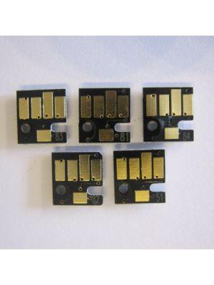 Auto reset chip Canon PGI5-Bk/CLI-8Bk/CLI-8C/CLI-8M/CLI-8Y (5 stuks) chip5pgi5cli8-KHL