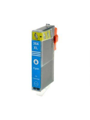 HP 364 XL cartridge cyaan MET chip (Huismerk) HP364XLCCB323EE-KHL