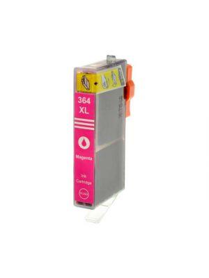 HP 364 XL cartridge magenta MET chip (Huismerk) HP364XLMCB324EE-KHL