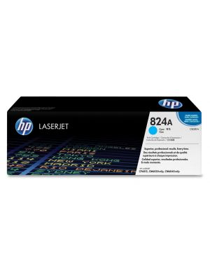 HP 824A Tonercartridge CB381A cyaan (Origineel) HPCB381A