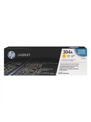 HP 304A (CC532A) Tonercartridge geel (Origineel) HPCC532A