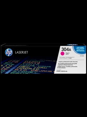 HP 304A (CC533A) Tonercartridge magenta (Origineel)