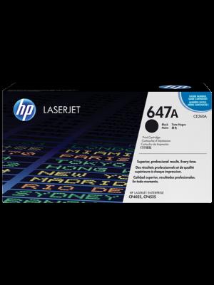 HP 647A Tonercartridge (CE260A) zwart (Origineel) HPCE260A
