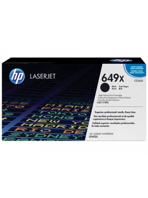 HP 649X Tonercartridge CE260X zwart (Origineel) HPCE260X