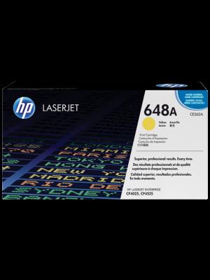 HP 648A Tonercartridge CE262A geel (Origineel) HPCE262A
