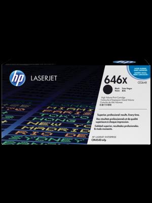 HP 646X (CE264X) toner zwart (origineel) HPCE264X