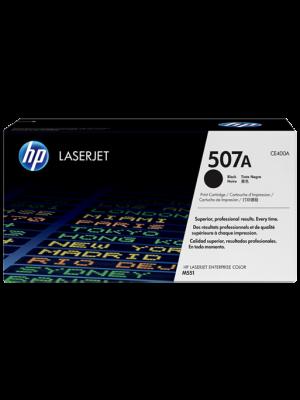 HP 507A (CE400A) toner zwart (origineel) HPCE400A