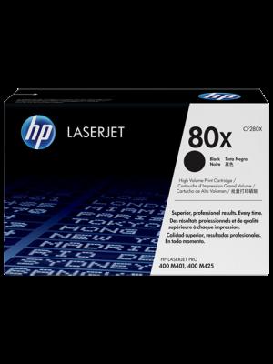 HP 80X (CF280X) toner zwart (origineel) HPCF280X