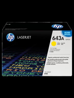 HP 643A Tonercartridge Q5952A geel (Origineel) HPQ5952A