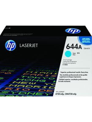HP 644A Tonercartridge Q6461A cyaan (Origineel) HPQ6461A