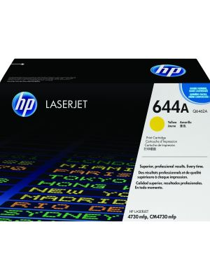 HP 644A Tonercartridge Q6462A geel (Origineel) HPQ6462A