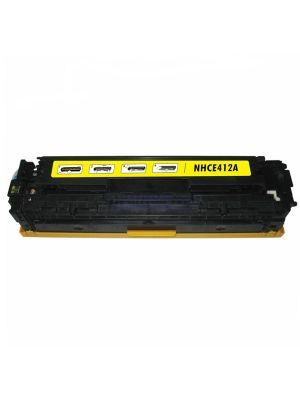 HP 305A (CE412A) toner geel (KHL huismerk) KHLHPCE412A