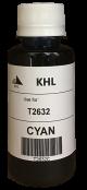 Epson T2632 inkt 100 ml cyaan (KHL huismerk) T2632C100T26XLT2602-KHL