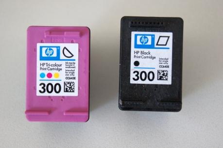 HP300 zwart en kleur